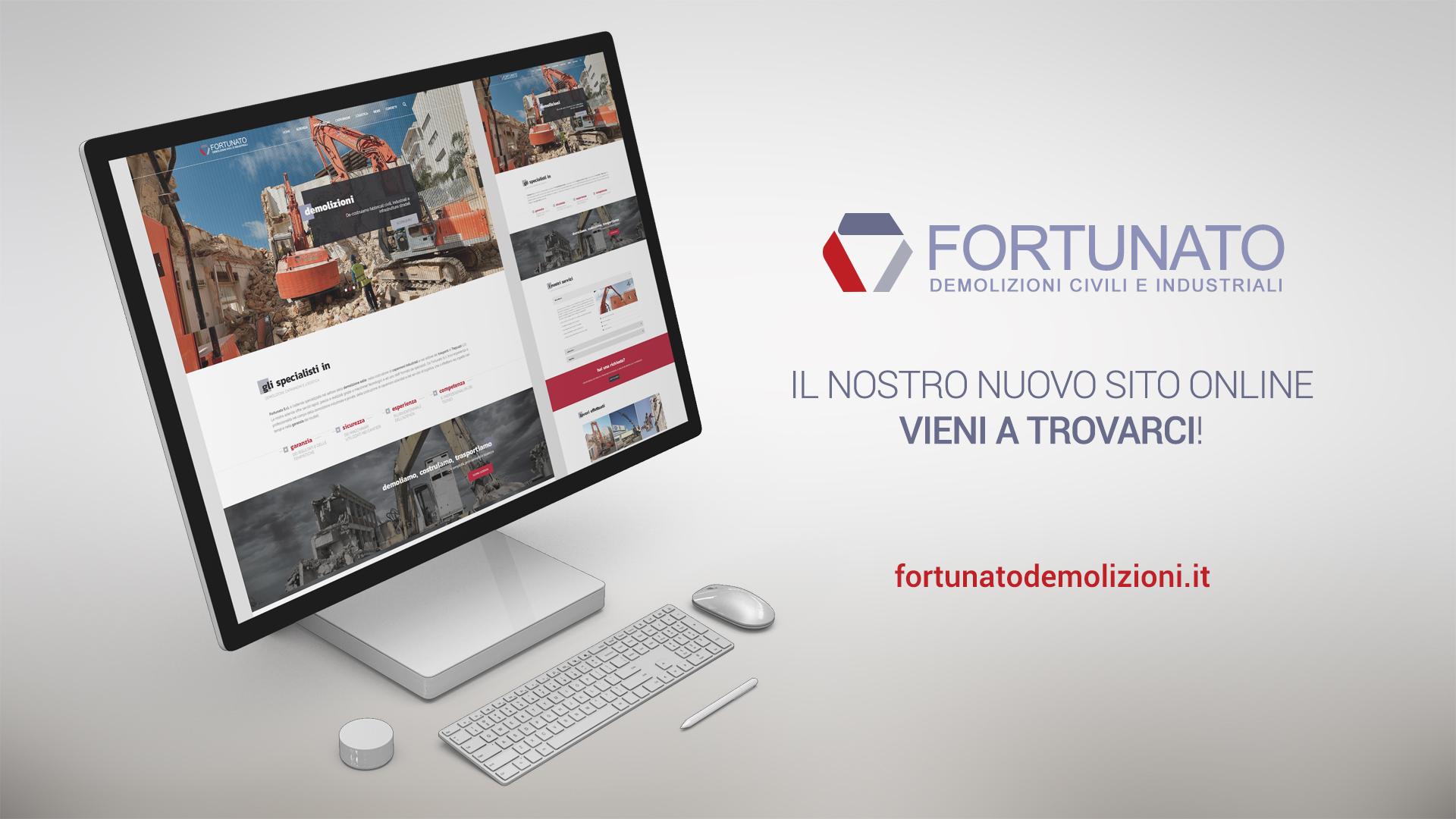 Fortunato Srl: online con il nuovo sito