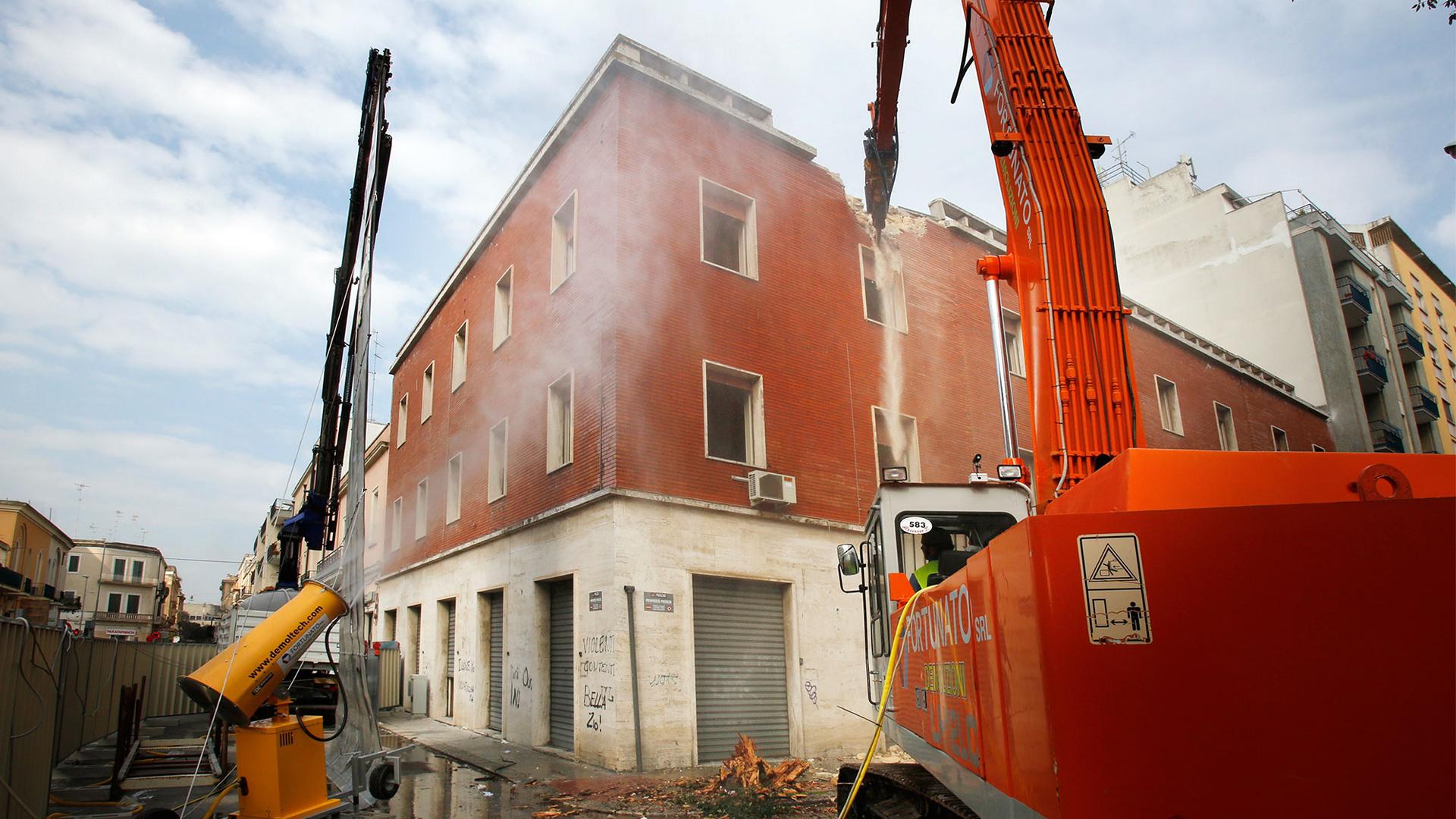 Le tecniche di demolizione edilizia